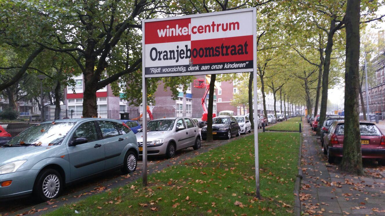 Oranje'droom'straat