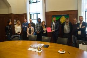 foto 1 bij persbericht STUDENTEN INHOLLAND WILLEN MEEDENKEN, MEEWERKEN EN MEELEREN (foto menno leutscher)